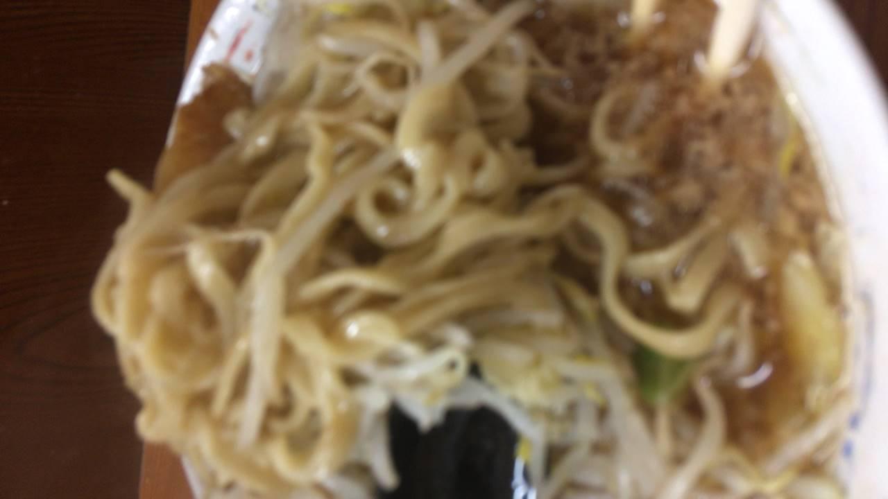 ラーメン730円ヤサイ・ニンニク|ラーメン二郎亀戸店