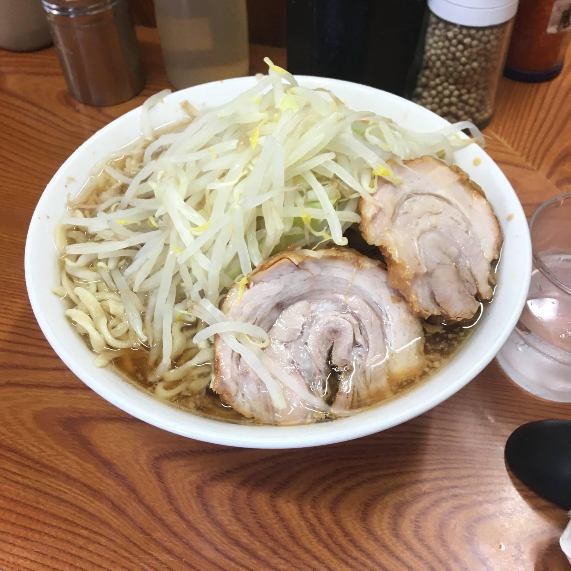 亀戸のラーメン二郎:食べたのはラーメン730円