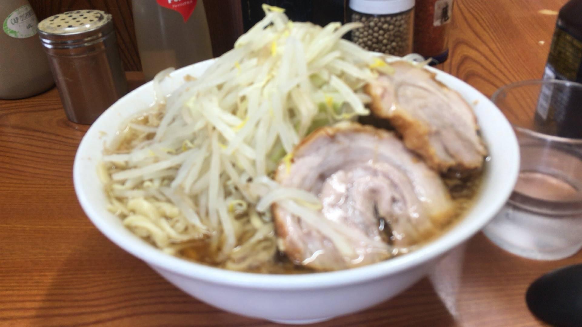 亀戸のラーメン二郎:ラーメン730円