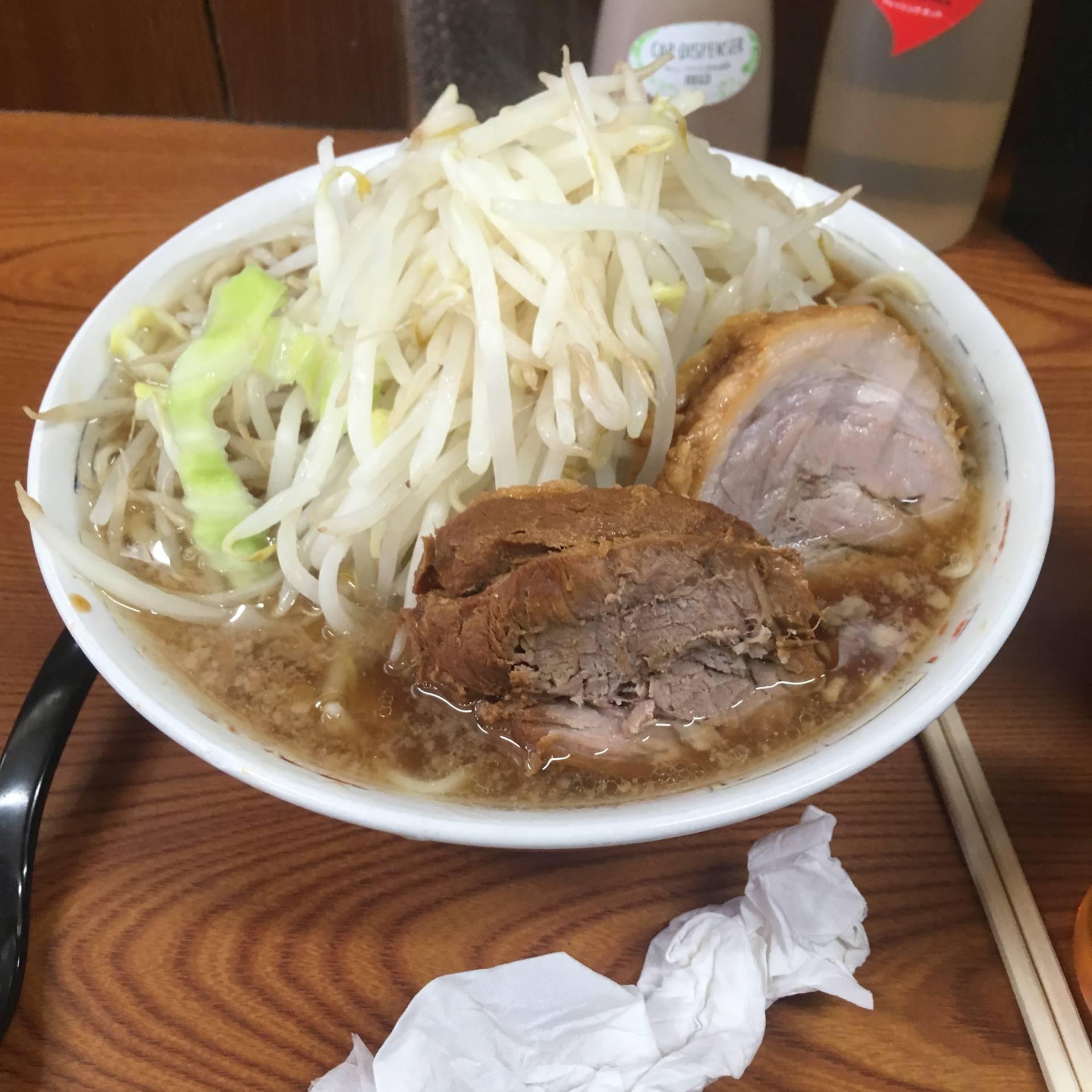 ラーメン730円 |ラーメン二郎亀戸店 6回目