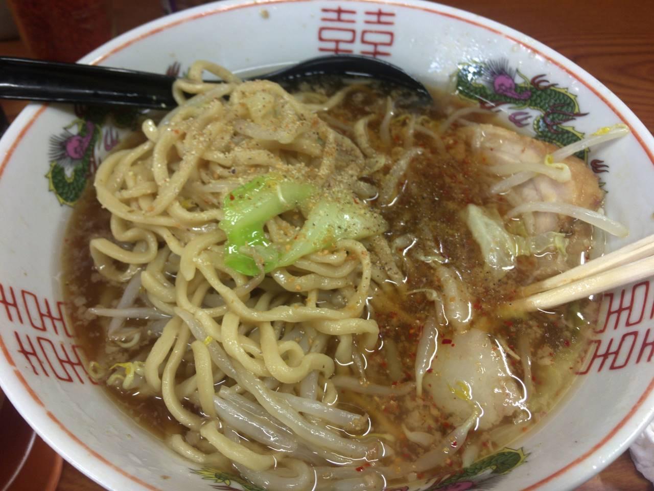 亀戸二郎の麺