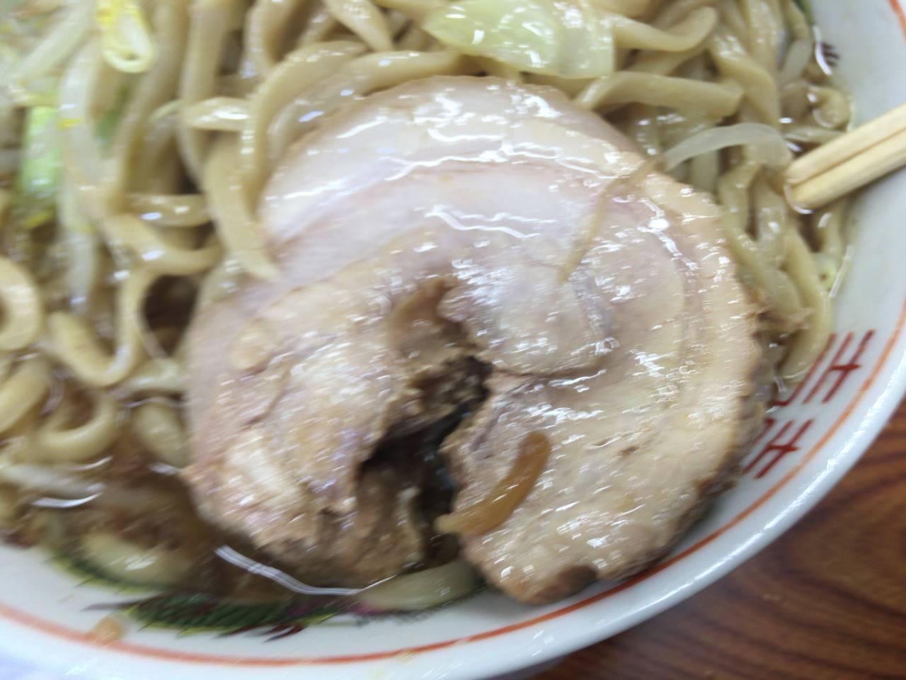 ラーメン二郎亀戸店11回目 ラーメン730円