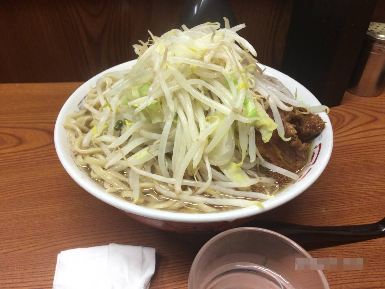 亀戸二郎5回目ラーメン730円|ラーメン二郎