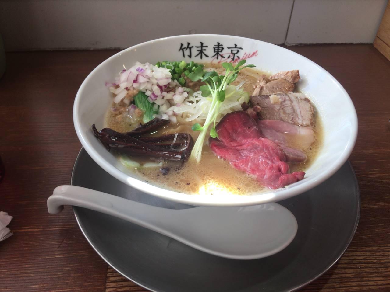 鶏ホタテそば 竹末東京Premium