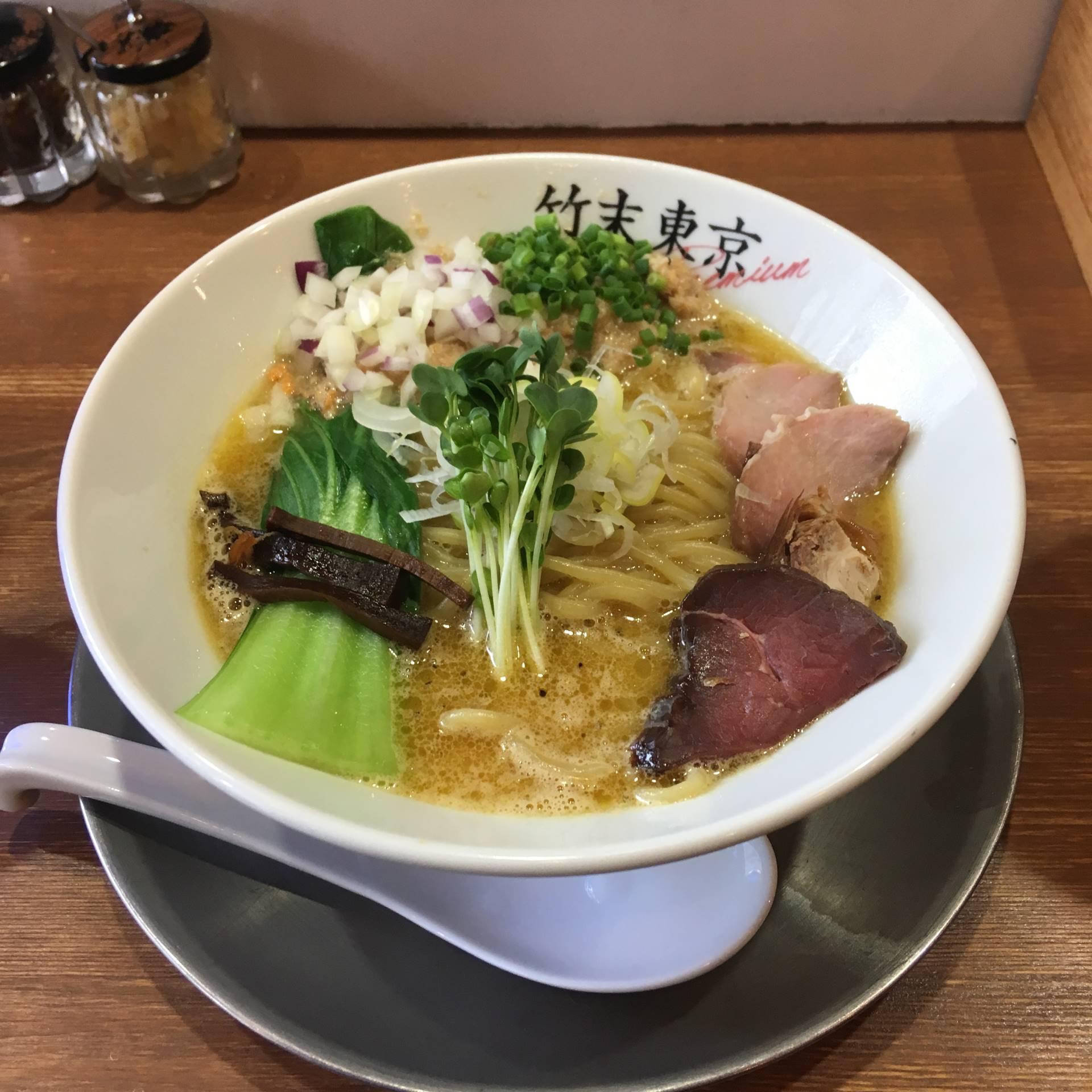 鶏ホタテそば|竹末東京プレミアム