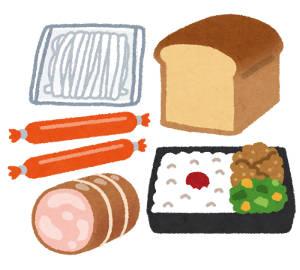 加工食品の絵