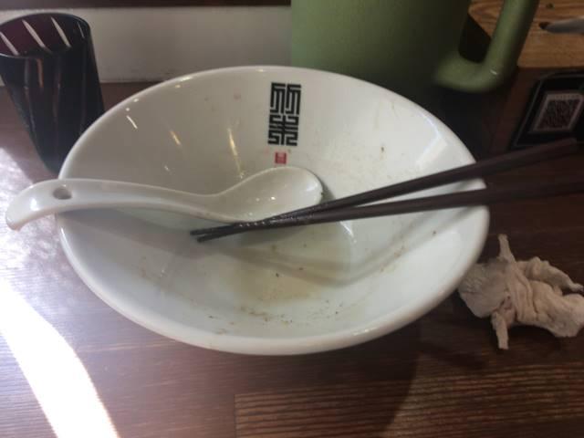 竹末東京プレミアムのサンマとイカのまぜそば900円