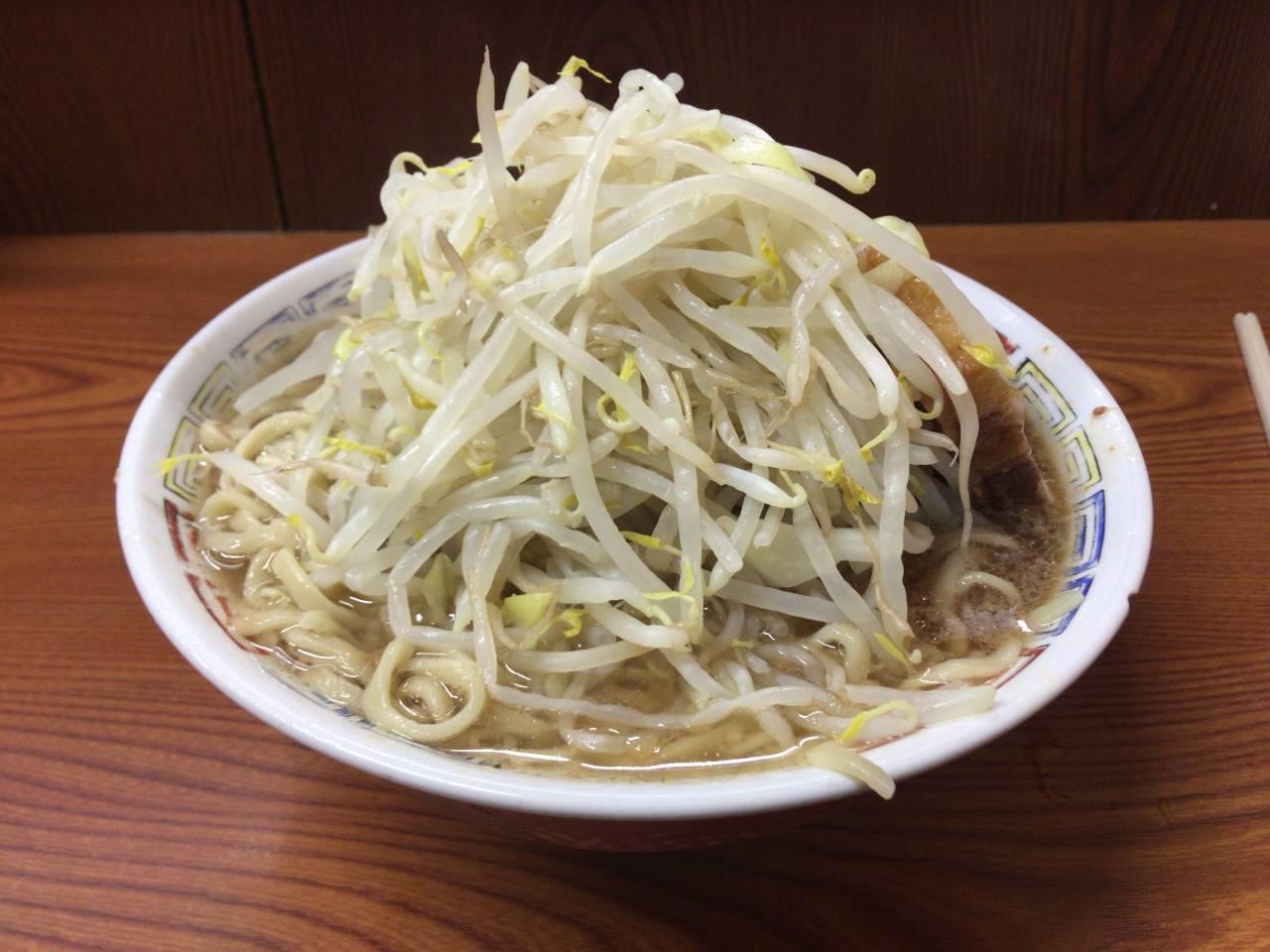 ラーメン二郎亀戸店12回目『ラーメン730円』