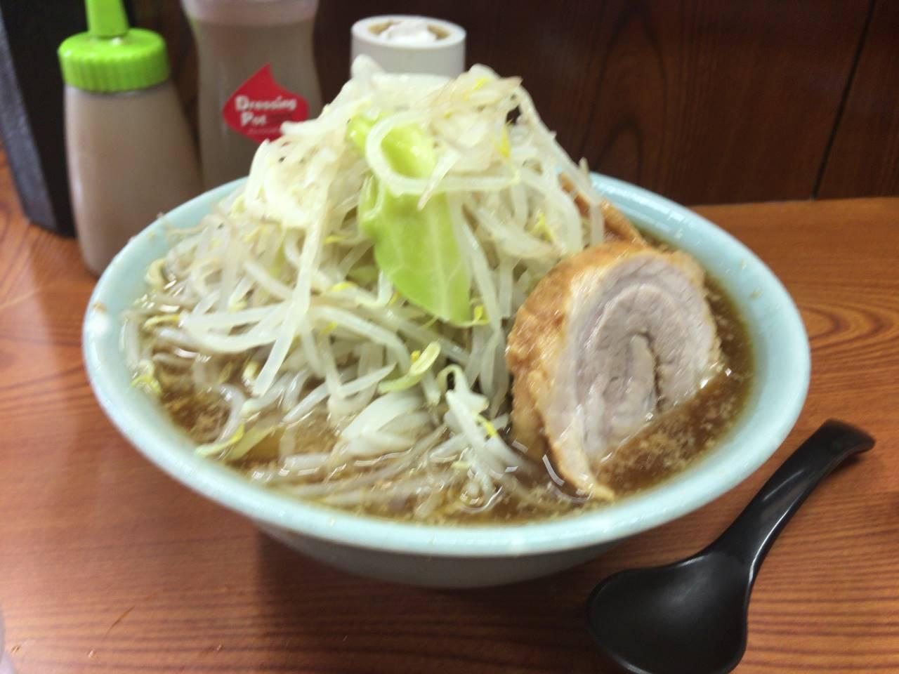 亀戸二郎14回目 ラーメン730円
