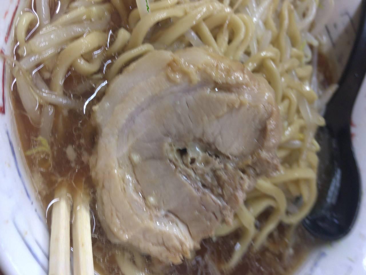 ラーメン二郎 亀戸店 豚肉その2