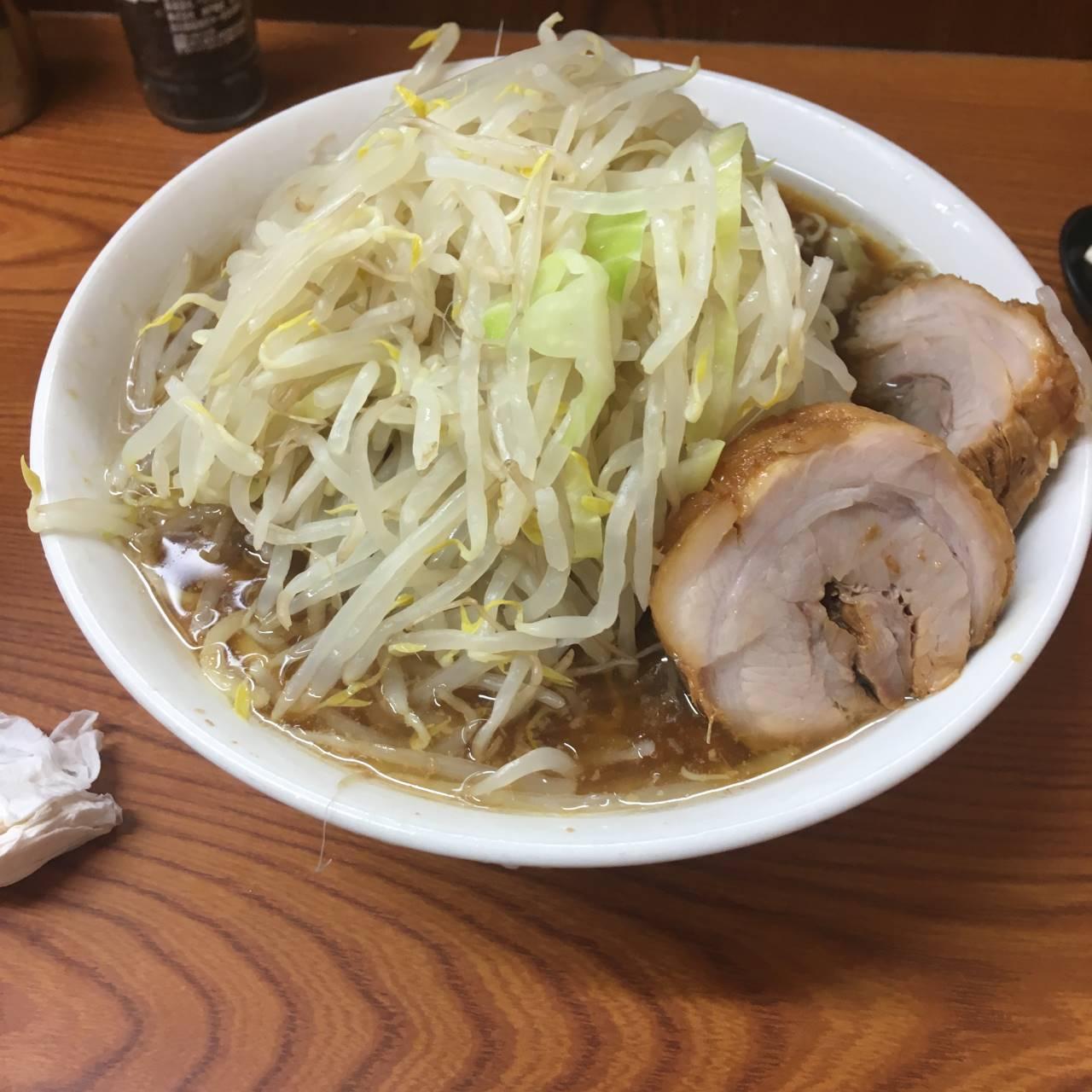 亀戸二郎のラーメン730円