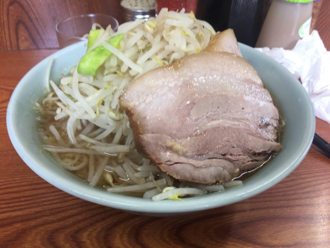 ラーメン二郎亀戸店16回目 ラーメン730円
