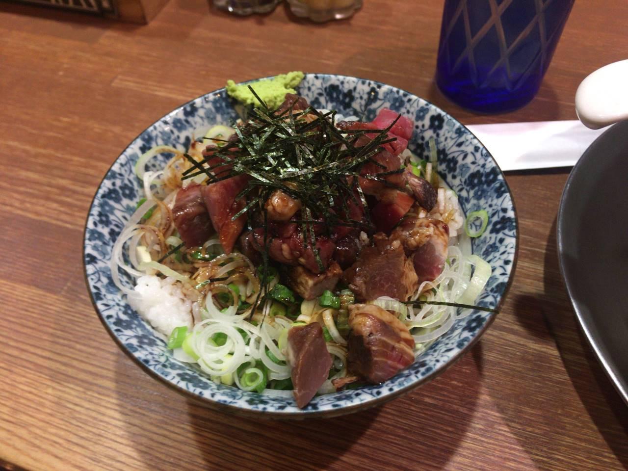 肉玉丼300円 玉子抜き