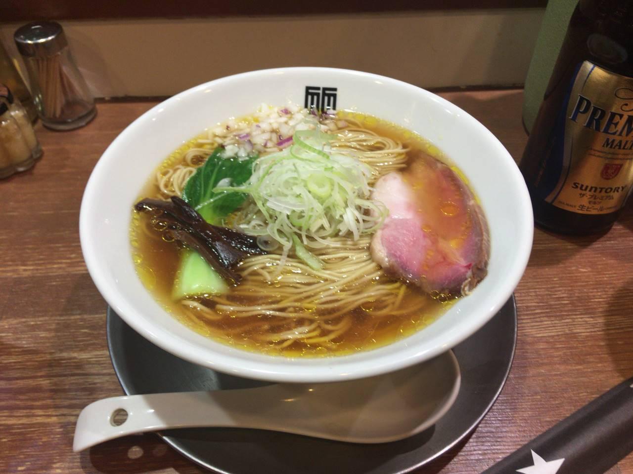 醤油そば麺大盛り900円