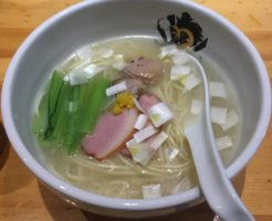 錦糸町にあるラーメン屋満鶏軒の鴨中華そば 塩