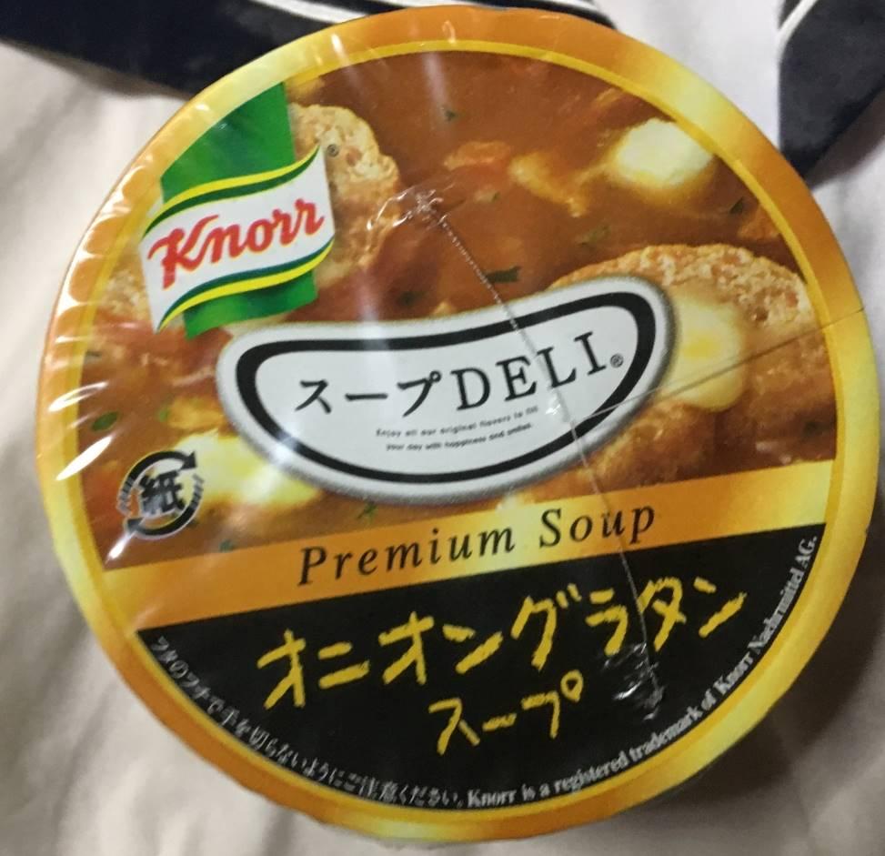 オニオングラタンスープ|クノール スープDELI