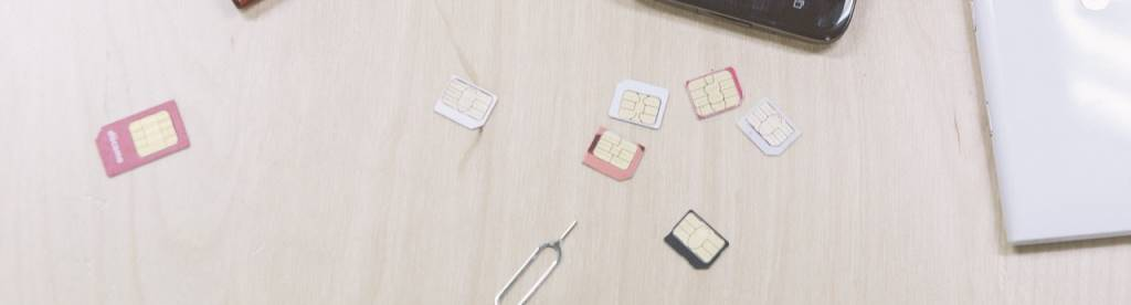 SIMカード各種