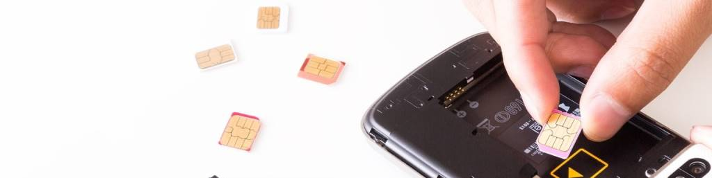 SIMカード交換