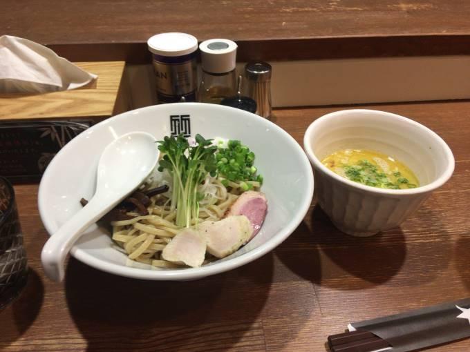 鶏つけそばと肉玉丼 竹末東京Premium