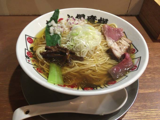 醤油そば 麺大盛り|竹末東京Premium