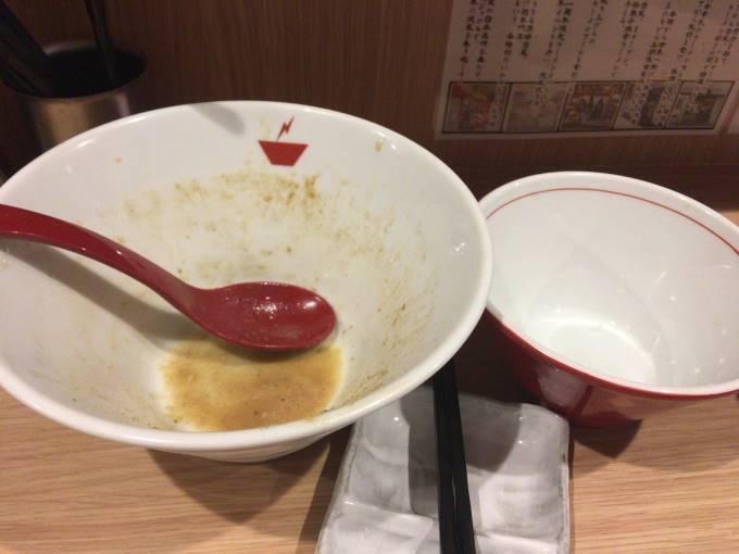 crab台風。蟹そば+雑炊セット