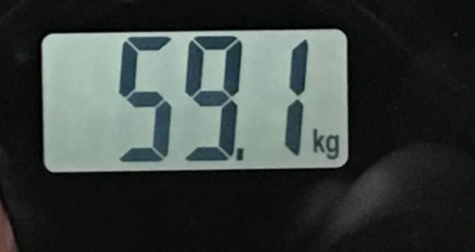 2018年07月15日の体重