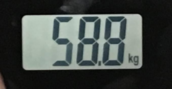 2018年07月16日の体重