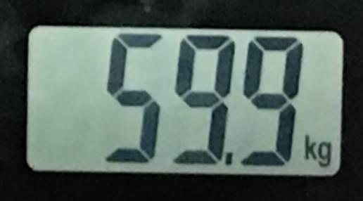 2018年7月22日の体重