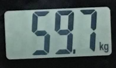 2018年07月23日の体重