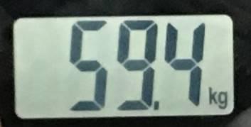 2018年07月24日の体重