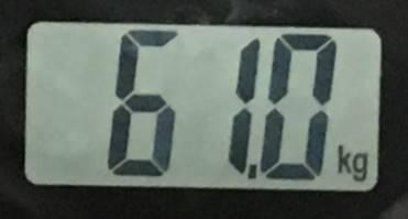 2018年07月26日の体重