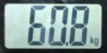 2018年07月29日の体重
