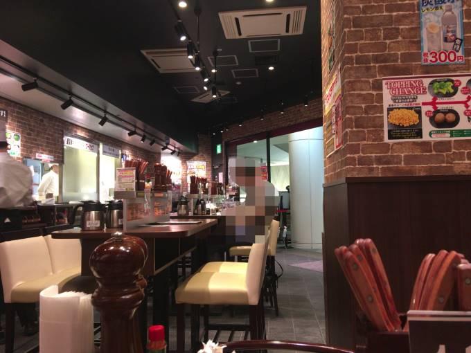 店内の様子 いきなりステーキ オリナス錦糸町店