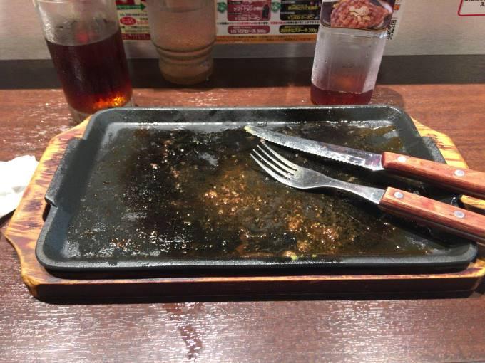 いきなりステーキ亀戸 乱切りカットステーキ300g