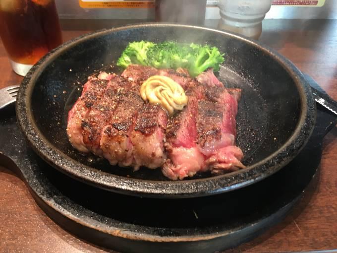 いきなり!ステーキ 亀戸店ワイルドステーキ300g
