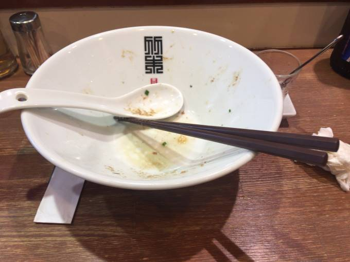 サンマとイカのまぜそば900円|竹末東京プレミアム2018年6月28日