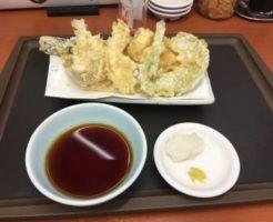 『天ぷら盛り合わせ』とホタテ|てんや