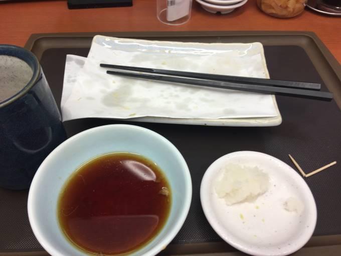天ぷら盛り合わせとホタテ|てんや