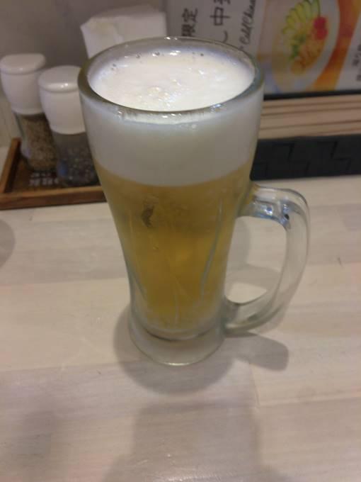 ビール500円