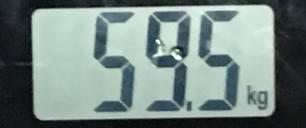 2018年8月11日の体重
