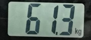 2018年8月17日の体重