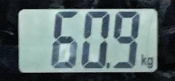 2018年8月22日の体重