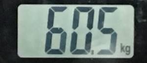 2018年9月06日の体重