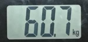 2018年9月07日の体重