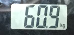 2018年9月08日の体重