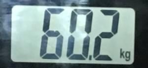 2018年9月09日の体重
