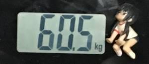 2018年9月15日の体重