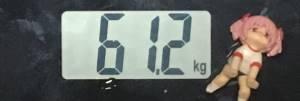 2018年9月24日の体重