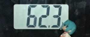 2018年10月08日の体重
