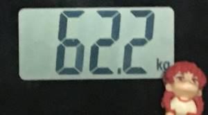 2018年10月11日の体重